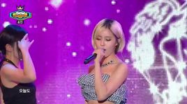 fake it (140812 show champion) - hyomin (t-ara)