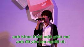 noi tinh yeu bat dau (karaoke) - v.a