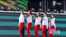 up and down (140906 music core) - exid