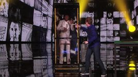 magician put nick cannon in a money machine (america's got talent 2014 - semifinals) - mike super - v.a
