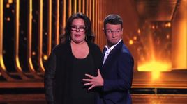 rosie o'donnell and howard stern help with card trick (america's got talent 2014 - finale) - mat franco - v.a