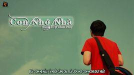 con nho nha (lyrics) - hoang lc, cham phay