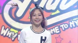why did you come to my home (141010 music bank) - minx