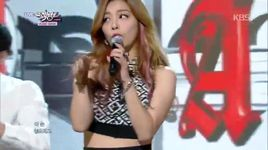 don't touch me (141017 music bank) - ailee