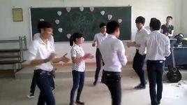 nam sinh dai hoc cong nghiep ha noi hat + nhay tang ban gai - v.a