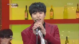 this is love (141024 music bank) - super junior