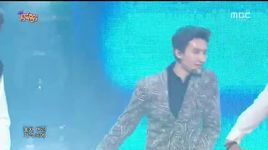 rewind (141101 music core) - zhou mi (super junior-m), amber f(x)