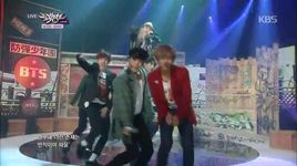 war of hormone (141107 music bank) - bts (bangtan boys)