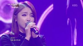 cheer up (141107 music bank) - hong jin young