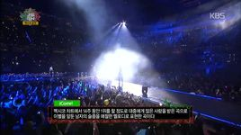 icorre (141112 music bank in mexico) - yoseob, young jae (b.a.p), sung gyu (infinite)