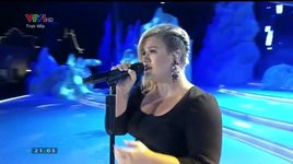 because of you (chung ket hoa hau viet nam 2014) - kelly clarkson