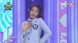 candy jelly love (141126 show champion) - lovelyz