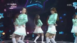 candy jelly love (141128 music bank) - lovelyz