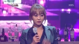 erase (141121 music bank) - hyolyn, joo young