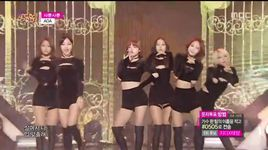 like a cat (141129 music core) - aoa