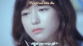 it's because i miss you today (vietsub, kara) - davichi