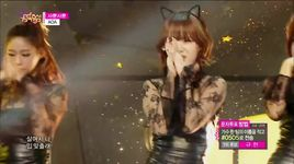 like a cat (141206 music core) - aoa