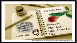 dac nhan tam - chuong 28 - cho nguoi khac niem tu hao - v.a