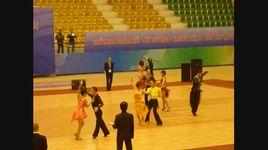 cha cha vong loai - dancesport