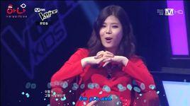 snow flower (voice kids - battle round) - ahyun, ye eum, eunsung