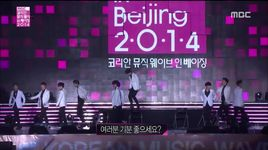 moonlight & growl (141207 korean music wave in beijing) - exo-k