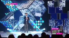 at gwanghwamun (141214 music core) - kyu hyun (super junior)