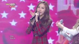 i need you (141219 music bank) - bestie