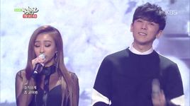 some & erase (141219 music bank) - soyou, hyolyn, junggigo