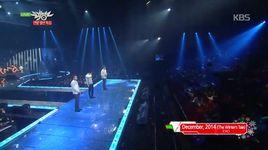 december, 2014 & overdose (141219 music bank) - exo