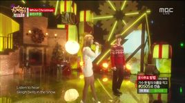 white christmas (141220 music core) - hyolyn, joo young