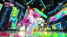 her (141227 music core) - block b