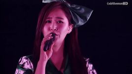 into the new world (ballard version) (the best live at tokyo dome) - snsd