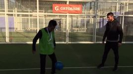tang bong nghe thuat do kim phuc & sergio ramos freestyle football skills - v.a