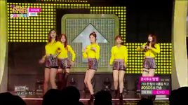 up & down (150103 music core) - exid