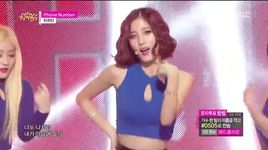 phone number (150117 music core) - tahiti