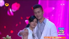 ta va nang (141227 happy camp - couple sing and dance passionately) - michelle chen (tran nghien hy), tran hieu (chen xiao)