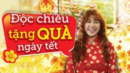 """vlog: hari won bat mi chieu """"doc"""" tang qua tet - hari won, dong nhi, v.a"""