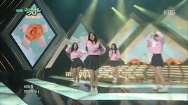 glass bead (150130 music bank) - gfriend