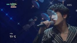 one fine day (150130 music bank) - yong hwa (cnblue)