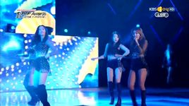 i swear & touch my body (150128 gaon music chart kpop awards) - sistar