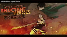 reluctant heroes (english version) (lyrics) - amanda lee