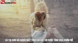loi tai anh (lyrics) - red sky, tracy thao my