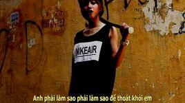 anh xin em dung (lyrics) - a.t.l, hailuafa