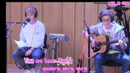 love song (130808 youngstreet) - chan yeol (exo), baek hyun (exo)