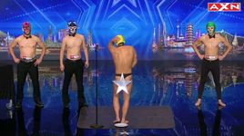 lot chuoi bang mong (asia got talent) - v.a