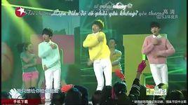 sung ai (live) (vietsub, kara) - tfboys