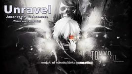 unravel (piano cover) (lyrics)  - v2l