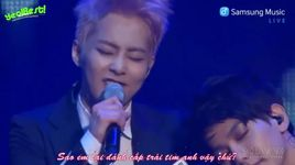 i like you (140415 samsung music) (vietsub) - exo
