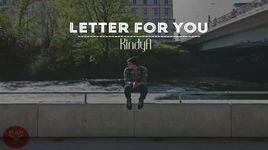 letter for you (handmade clip) - kindya