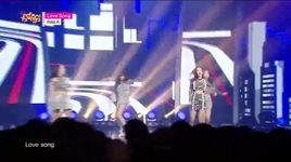 love song (150404 music core) - miss a